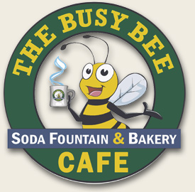 This is the official Busy Bee Cafe Logo.  I do not own its rights but use it respectfully in my blog.