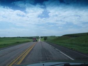 Somewhere in Iowa.  Big Sky, beautiful country!