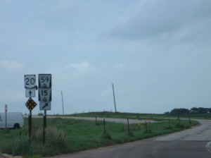 Traveling Route 20 instead of highways has been a blessing!