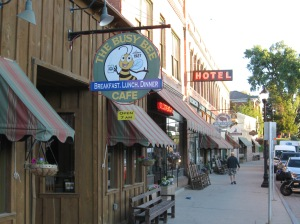 Downtown Buffalo, Wyoming.  It is an adorable town!!