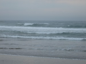 The waves rolling in and with them the ocean's healing energy!