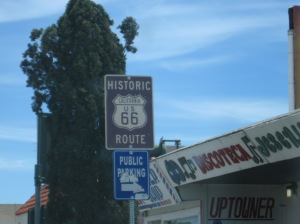 Picked up Route 66 while in California.