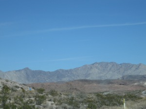 The last of the foothills and mountains...looking forward to flat lands again.