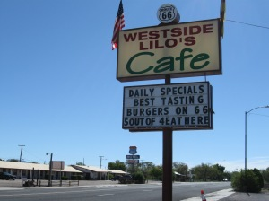 Breakfast at Westside Lilo's on Route 66!!