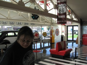 Keeping the memories alive at the Route 66 Museum in Clinton.