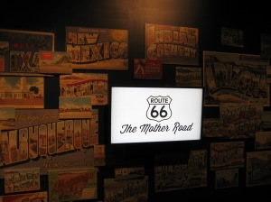 Route 66, also known as The Mother Road, the Will Rogers Highway and The Main Street of America.