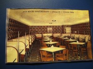 A picture of Pop's Hicks Restaurant.