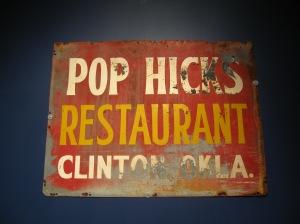 Original signage.