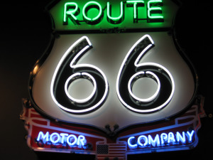 I love the history of Route 66!!  It is true Americana!