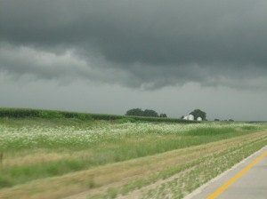 More storm clouds!