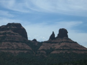 Then come the rock formations and the amazing sky.