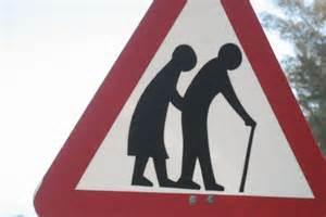 older sign